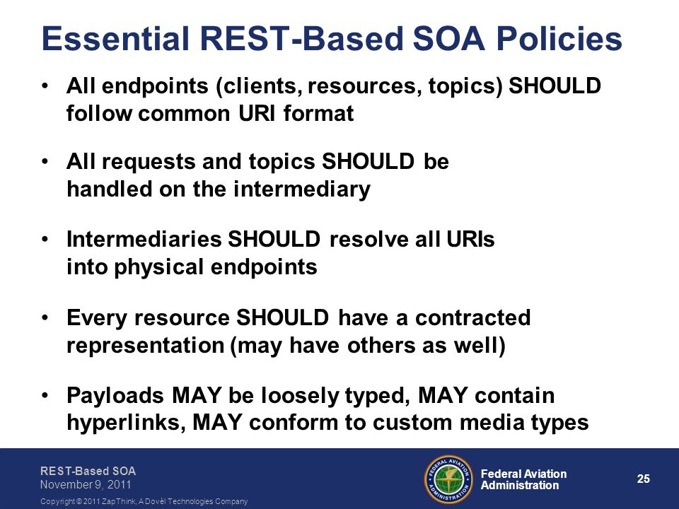 Essential REST-Based SOA Policies
