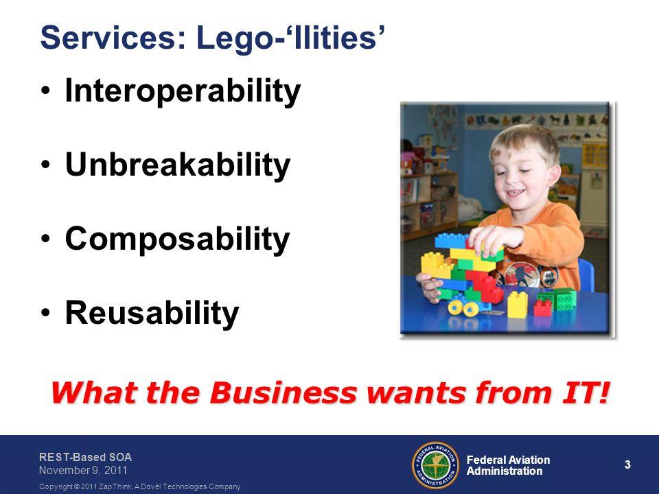 Services: Lego-'Ilities'