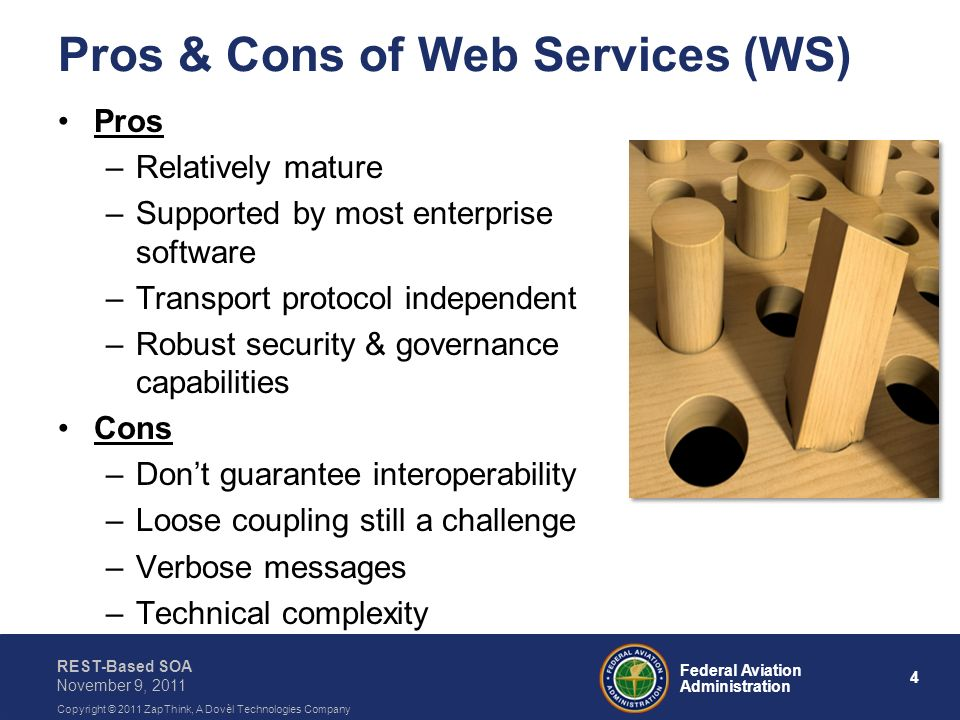Pros & Cons of Web Services (WS)