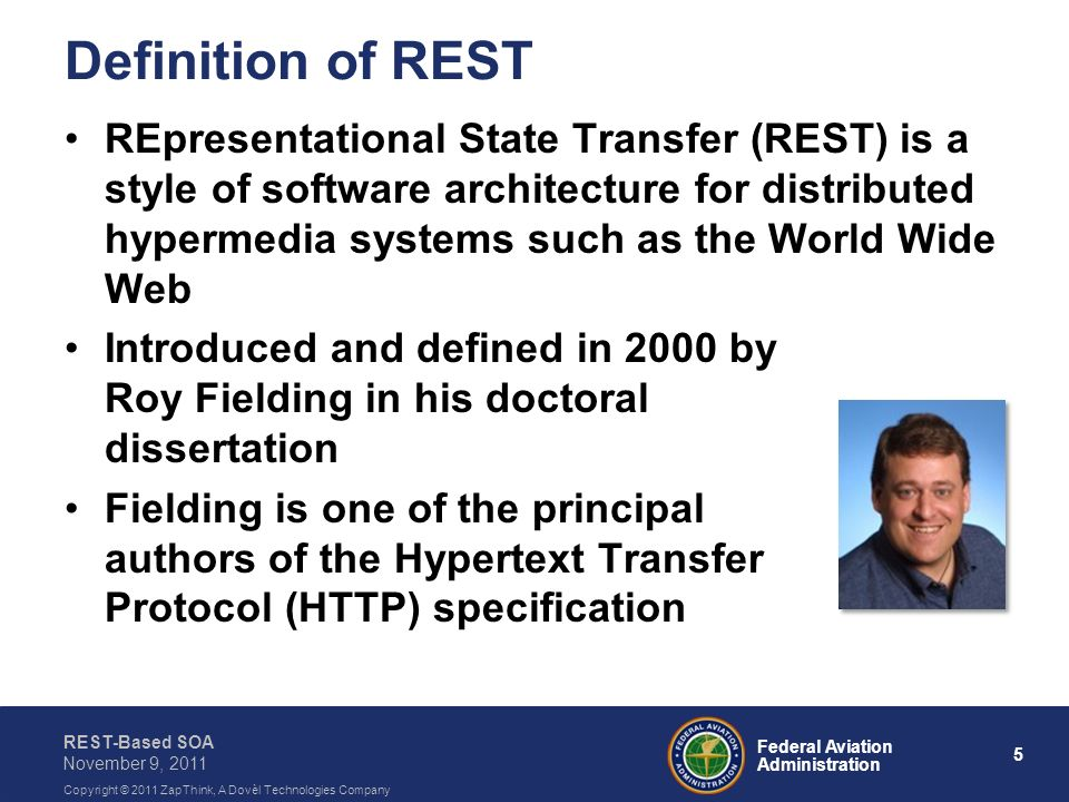 Definition of REST