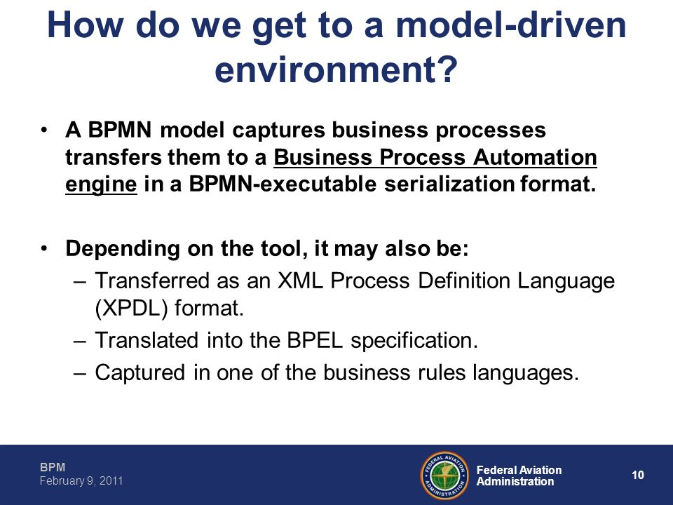 How do we get to a model-driven environment