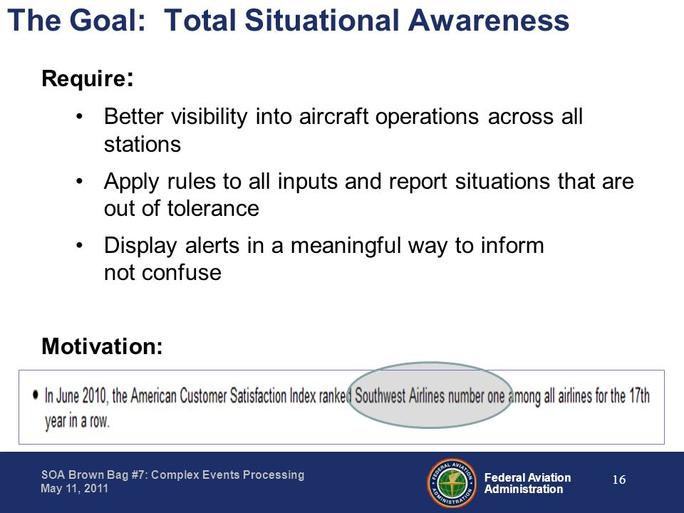 The Goal: Total Situational Awareness