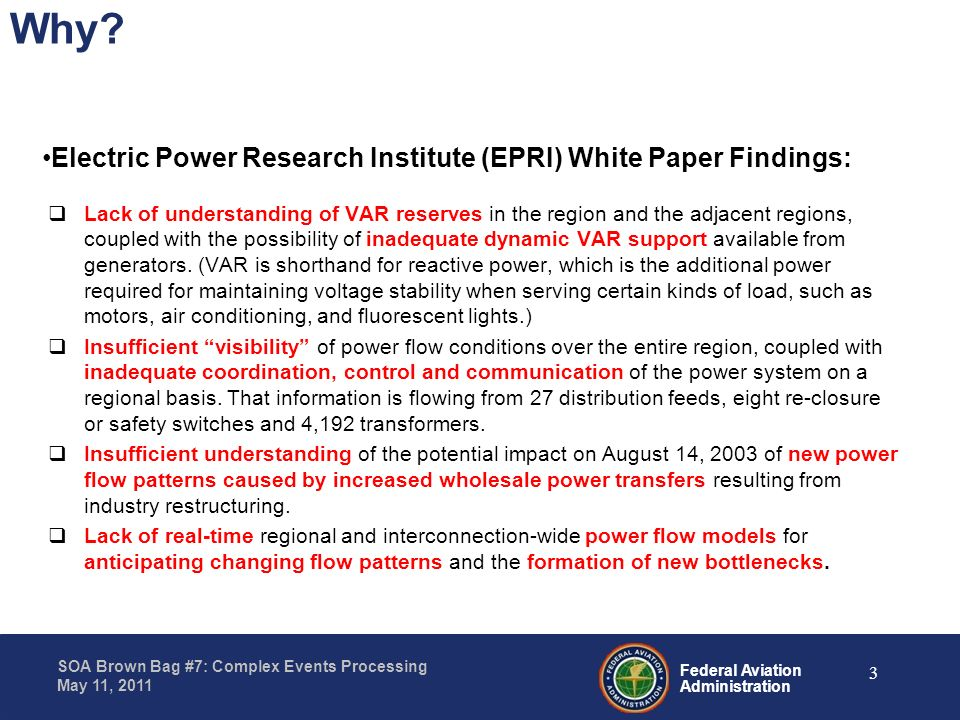 Why Electric Power Research Institute (EPRI) White Paper Findings: