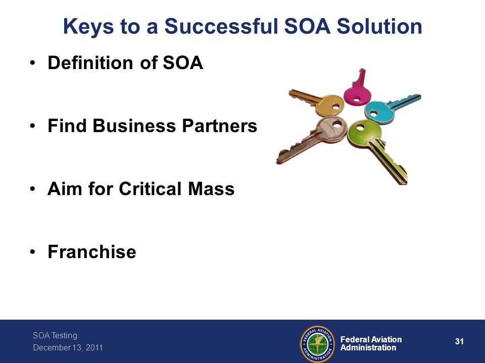 Keys to a Successful SOA Solution