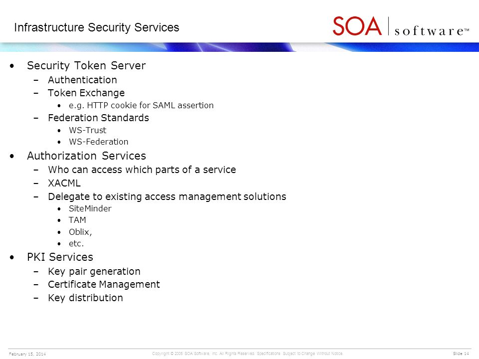 Infrastructure Security Services