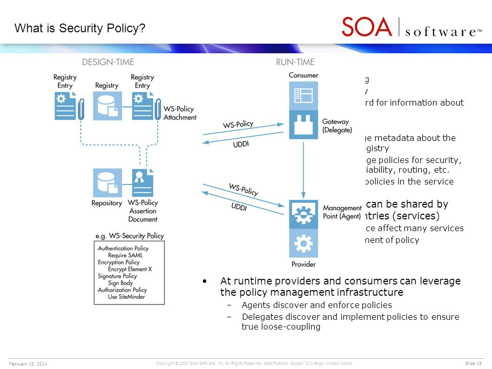 What is Security Policy