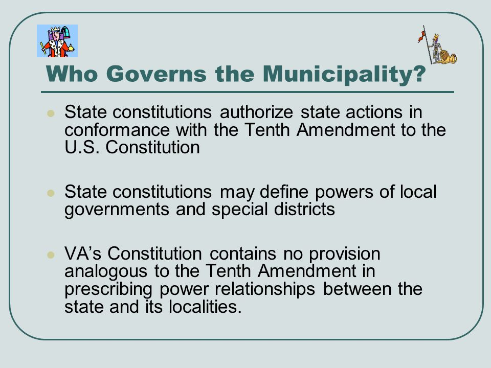Who Governs the Municipality