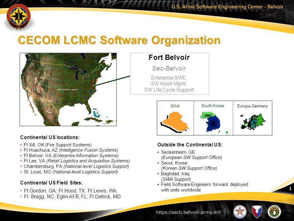 CECOM LCMC Software Organization