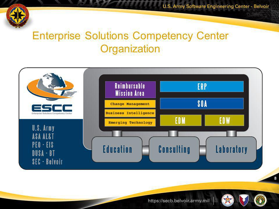 Enterprise Solutions Competency Center Organization