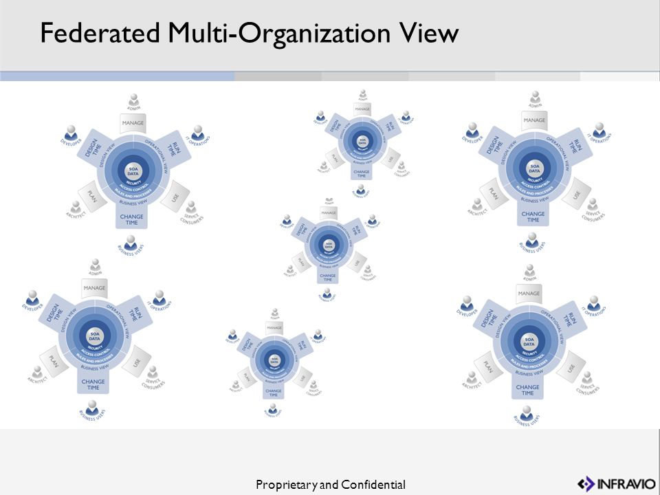 Federated Multi-Organization View