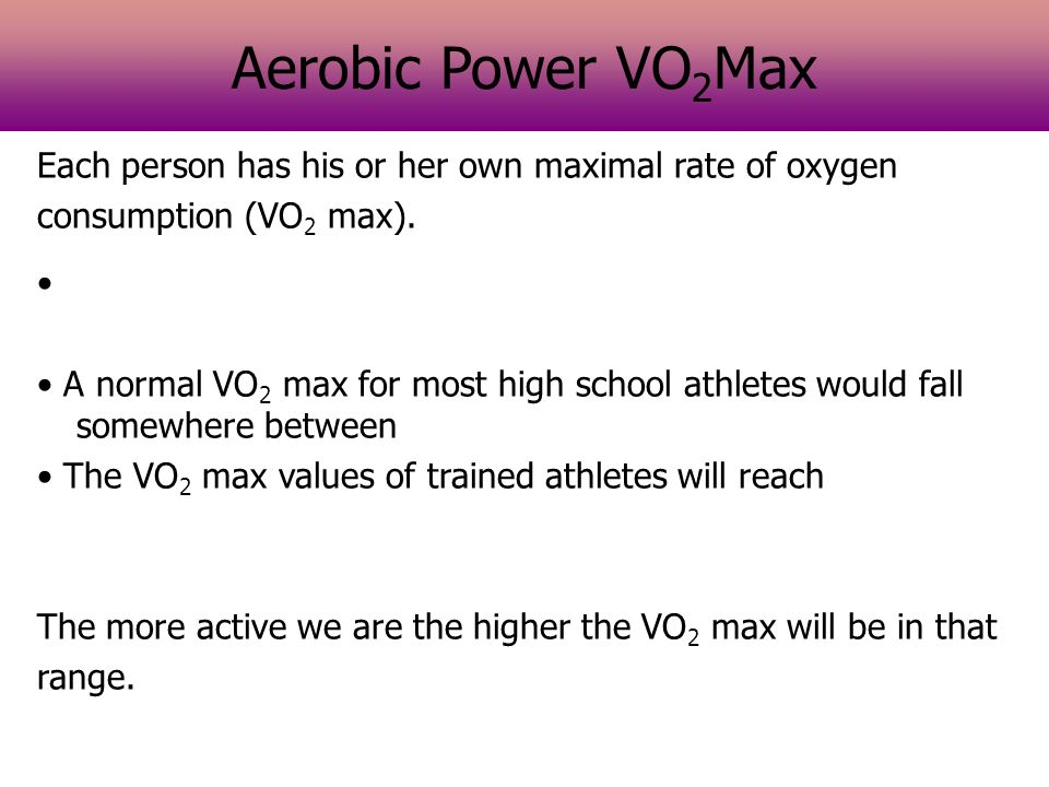maximum aerobic power If you've never tested aerobic power before you should really try it out - it's a hootif you're not the one doing the testing that is typically in lab conditions a map test (maximum aerobic power) is performed by riding at.