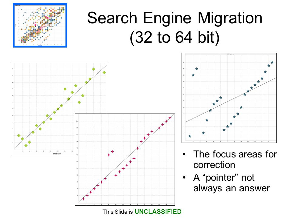 Search Engine Migration (32 to 64 bit)