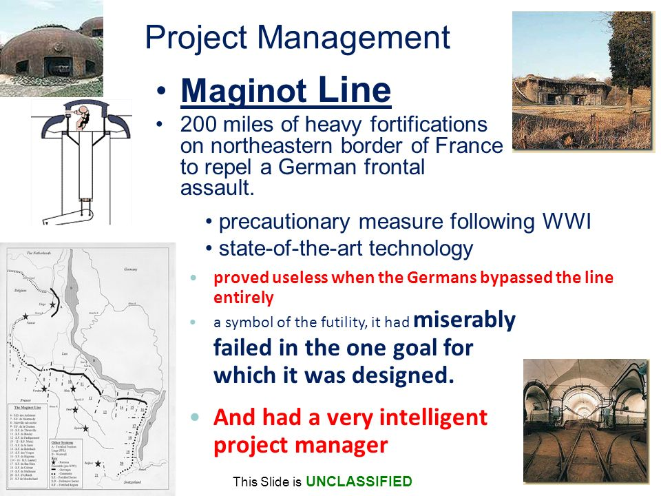 Project Management Maginot Line