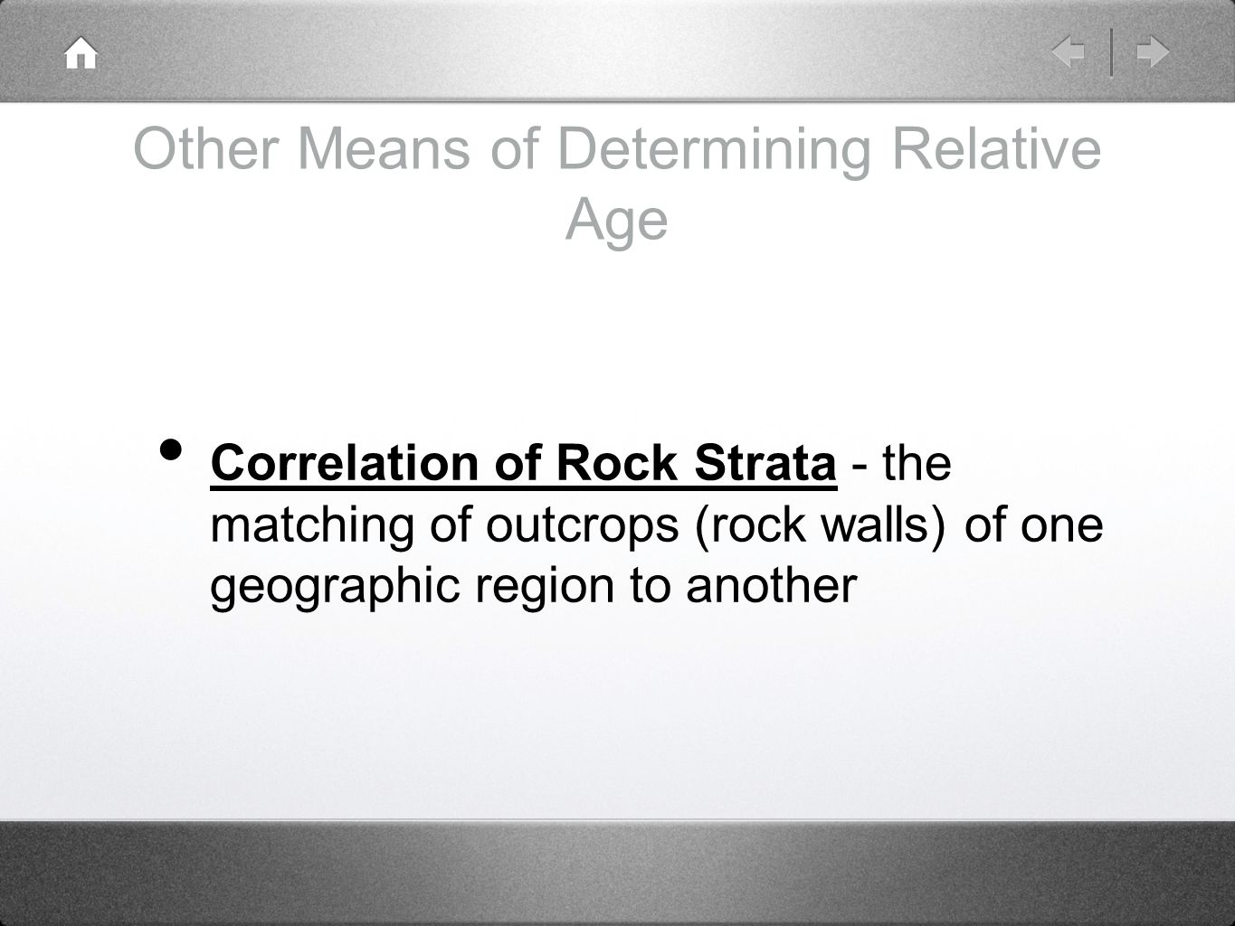 Section 21.2 relative-age hookup of rocks answers