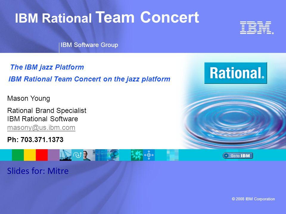 IBM Rational Team Concert