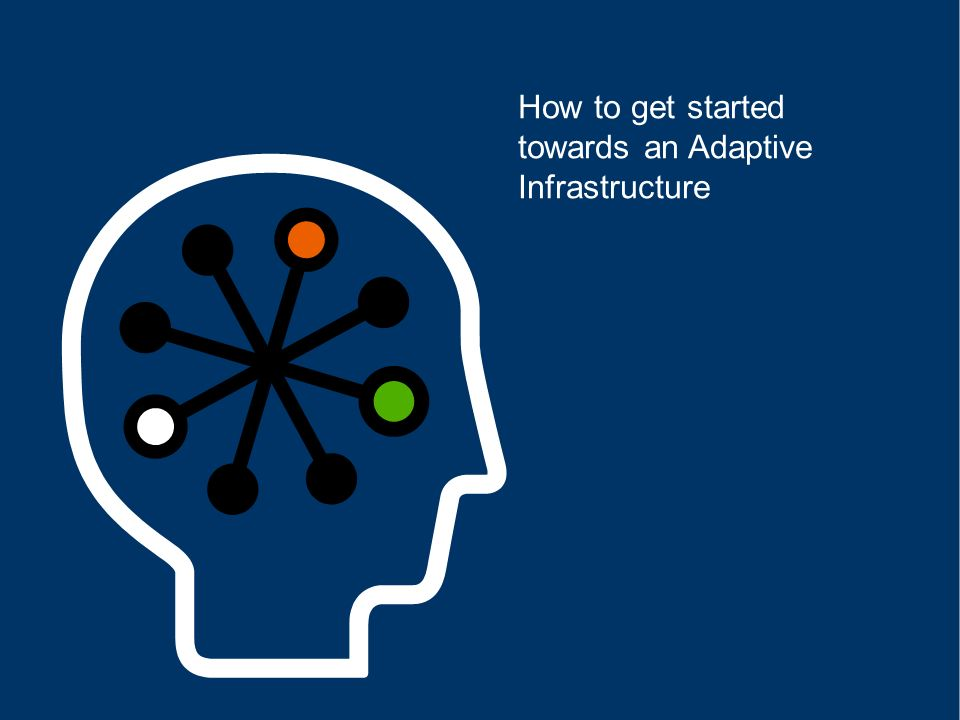 How to get started towards an Adaptive Infrastructure