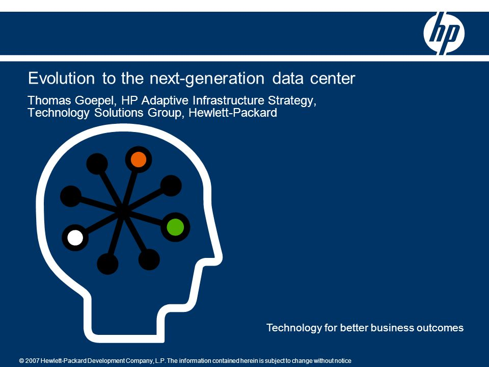 Evolution to the next-generation data center