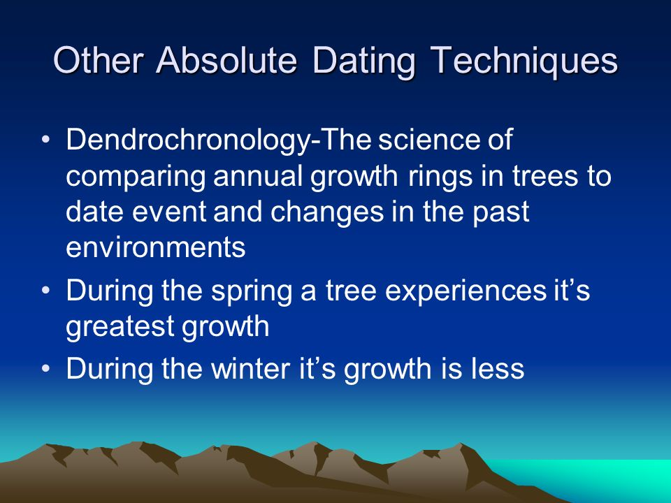 What is absolute dating in science - ITD World