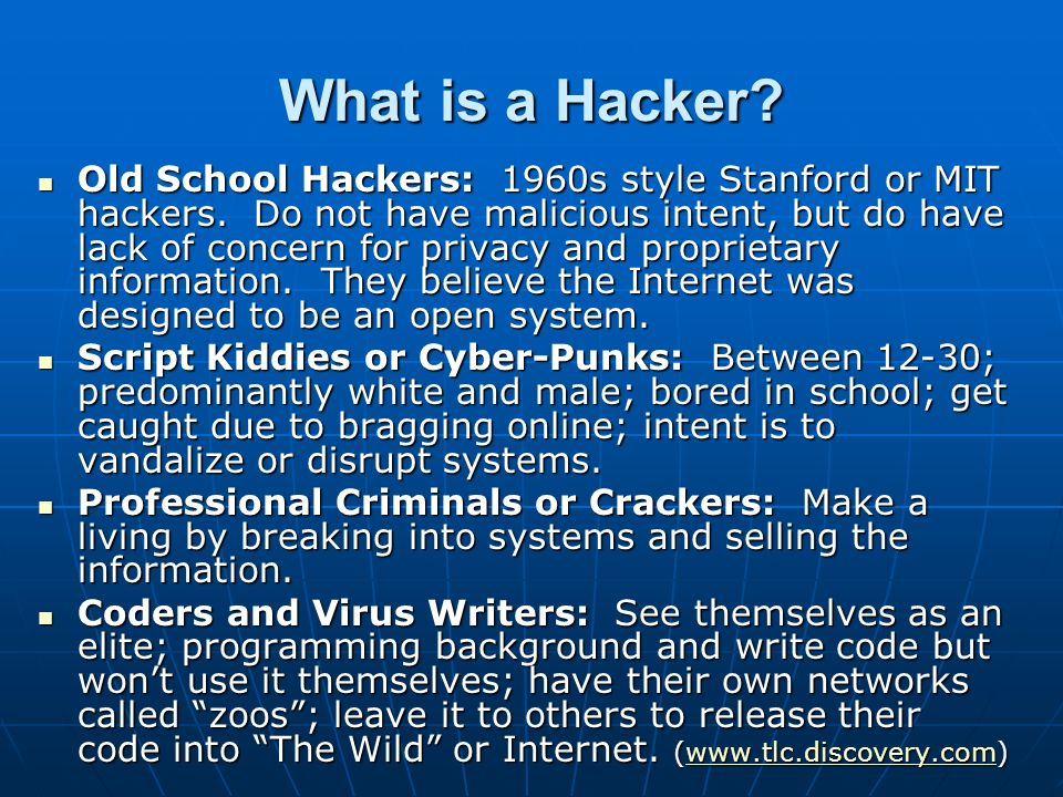 What is a Hacker