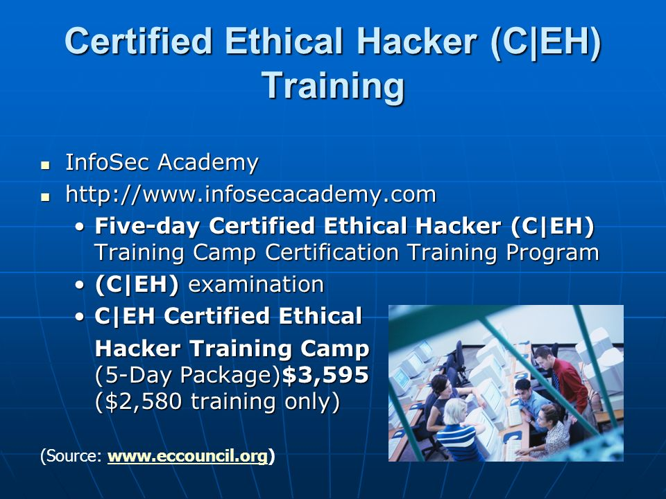 Certified Ethical Hacker (C|EH) Training