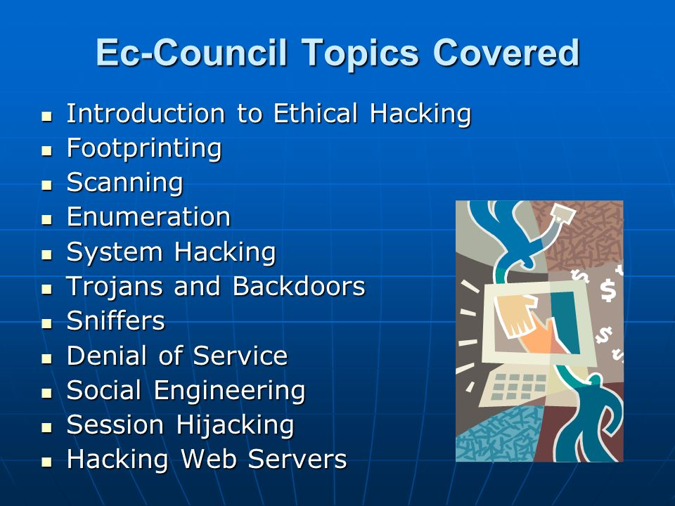 Ec-Council Topics Covered
