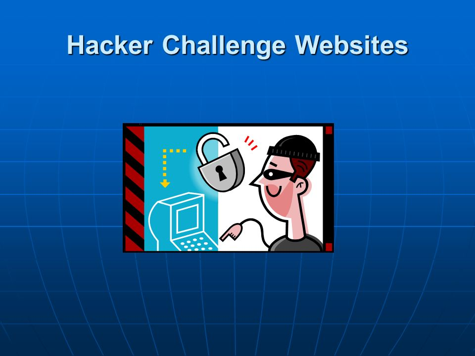 Hacker Challenge Websites