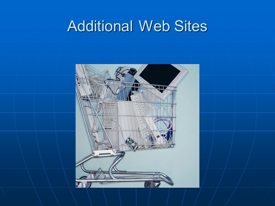 Additional Web Sites