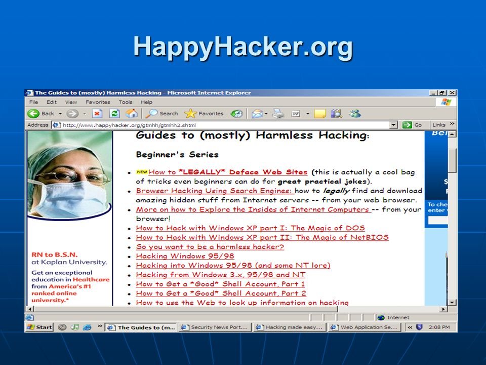 HappyHacker.org