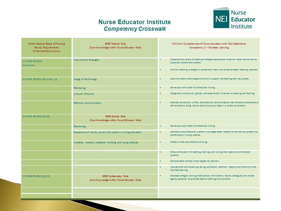 Nurse Educator Institute