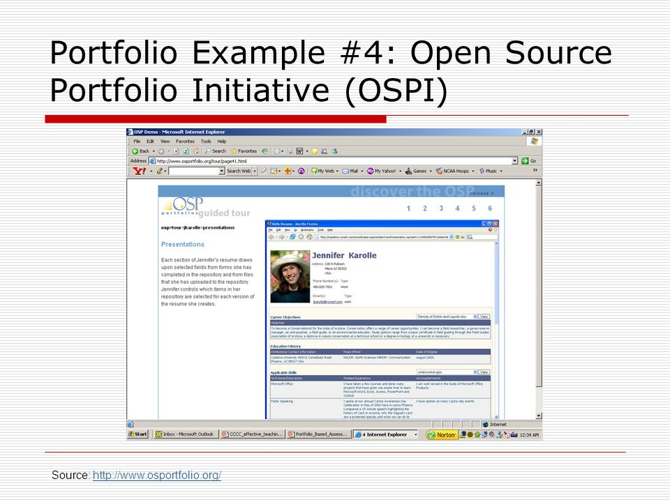 Portfolio Example #4: Open Source Portfolio Initiative (OSPI)