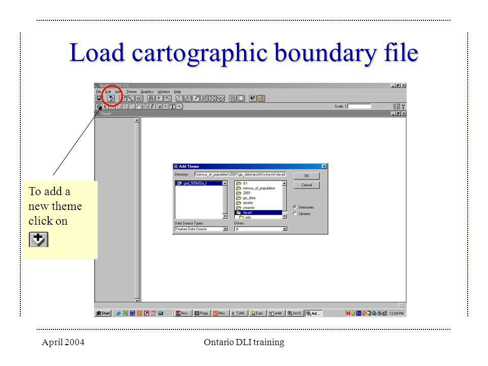Load cartographic boundary file