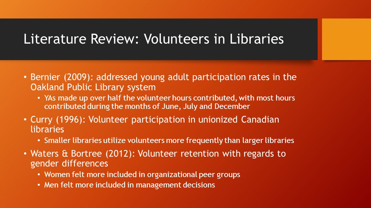 how to get research volunteers