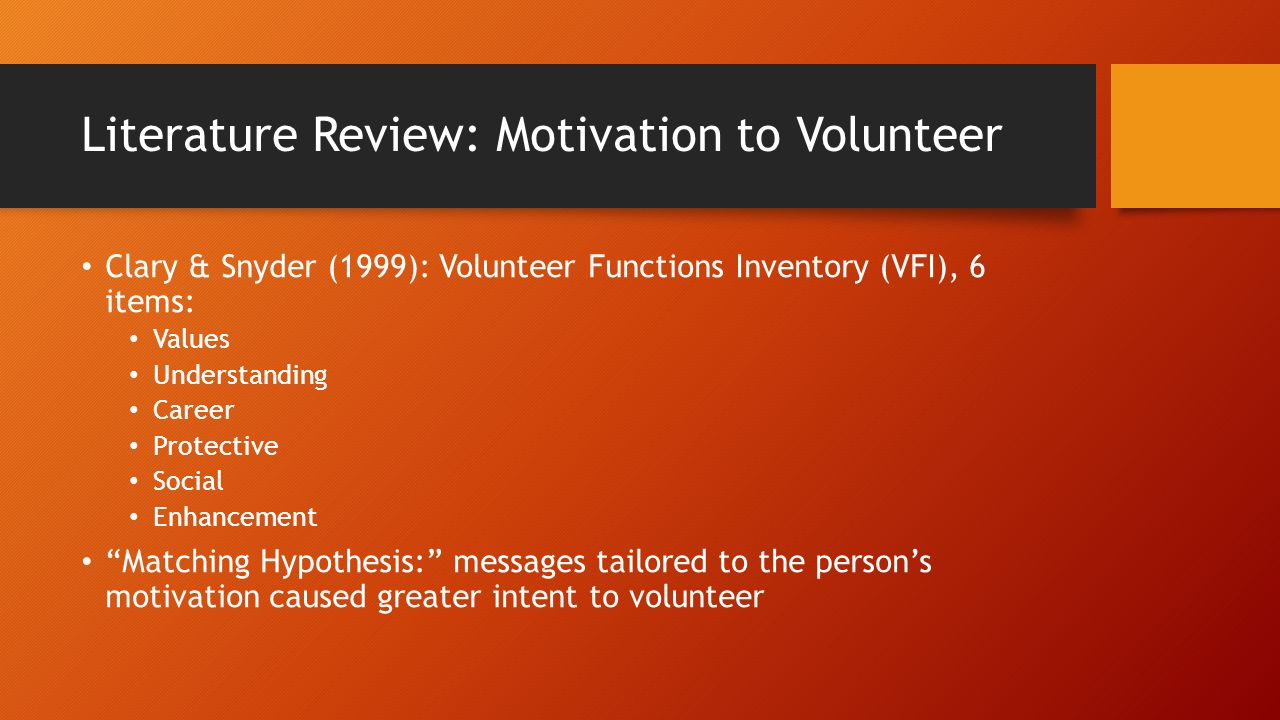 literature review on motivation and performance