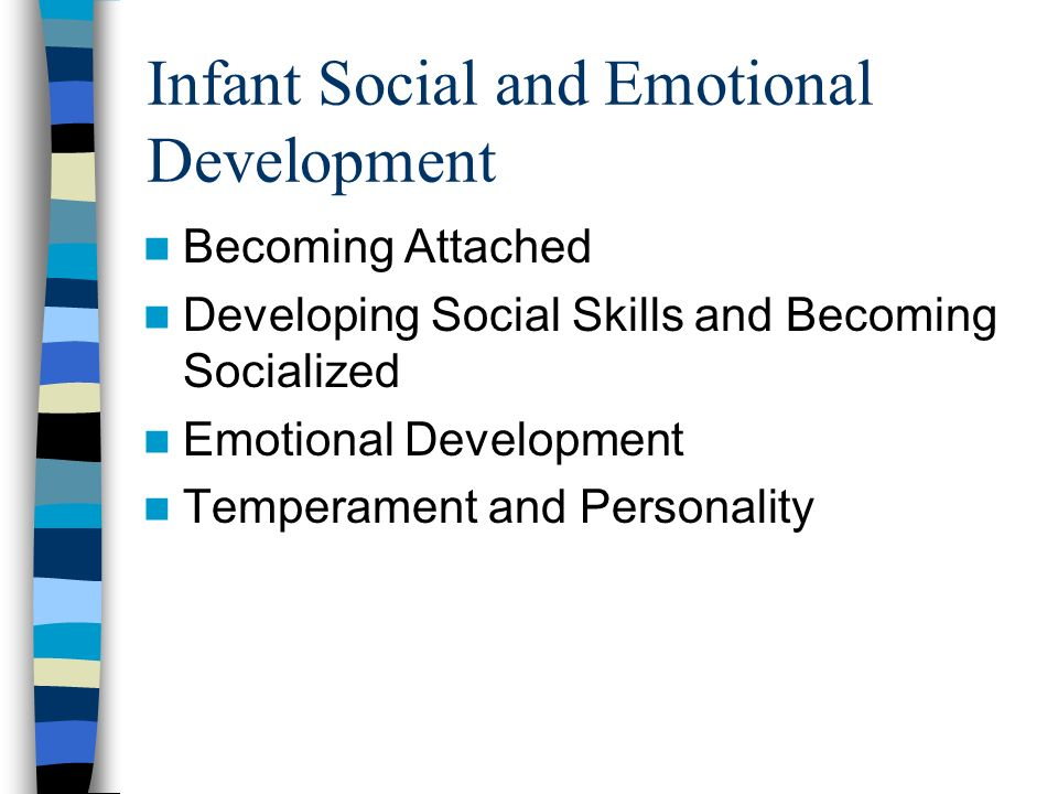 briefly outline the social and emotional development of children from birth to sixteen and the influ Of development which are emotional, social people from birth to 19 years children's development is outline of the expected pattern of children and.
