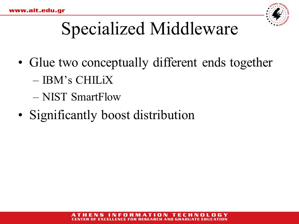 Specialized Middleware