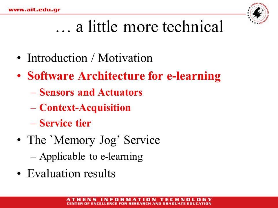 … a little more technical