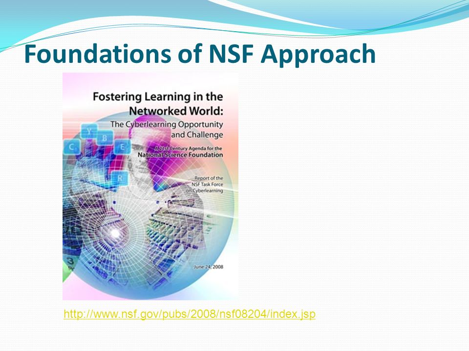 Foundations of NSF Approach