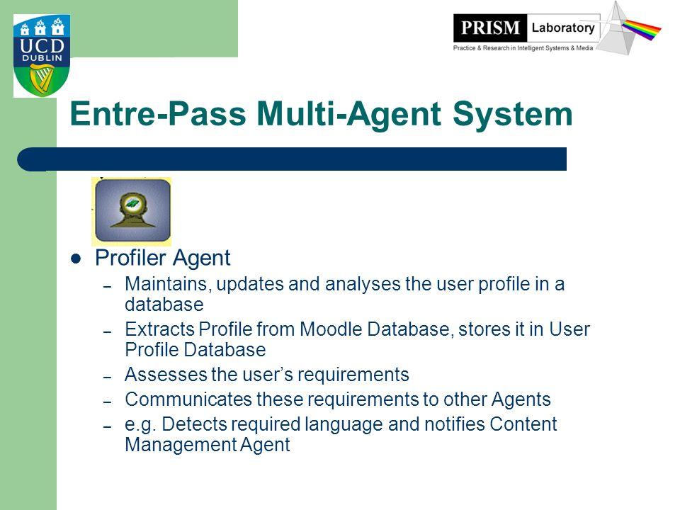 Entre-Pass Multi-Agent System