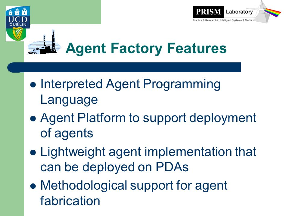 Agent Factory Features