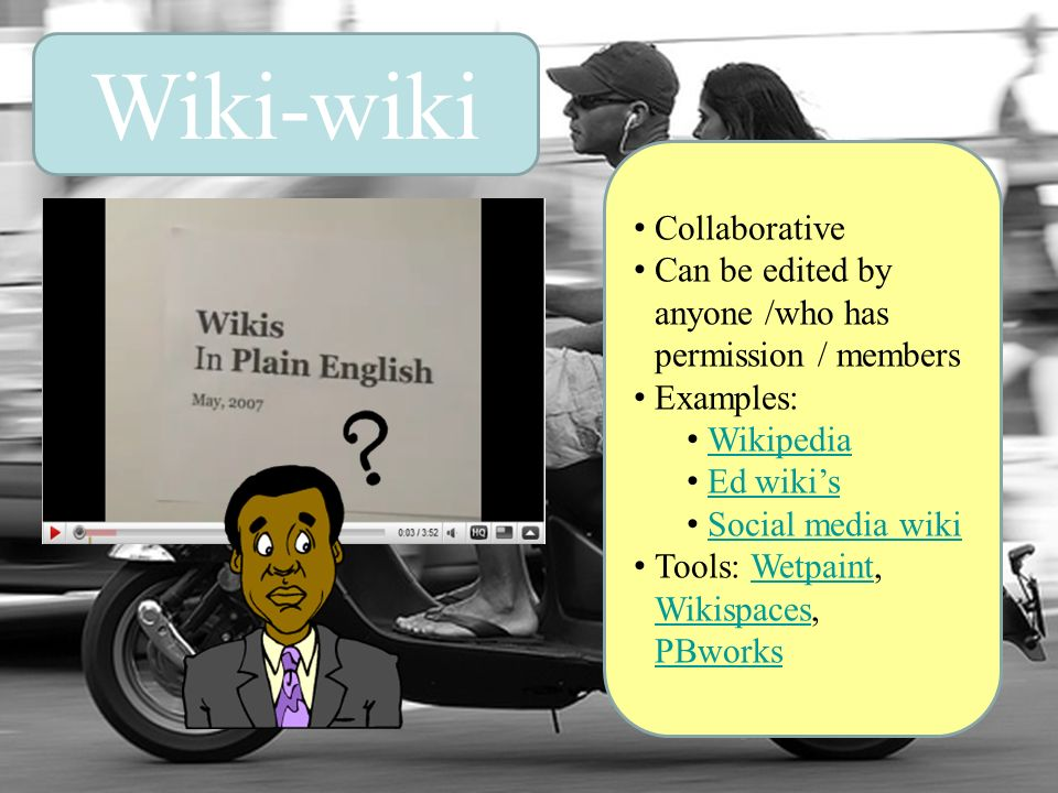 Wiki-wiki Collaborative