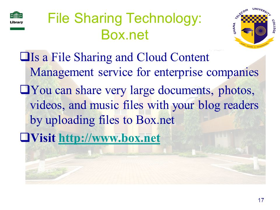 File Sharing Technology: Box.net