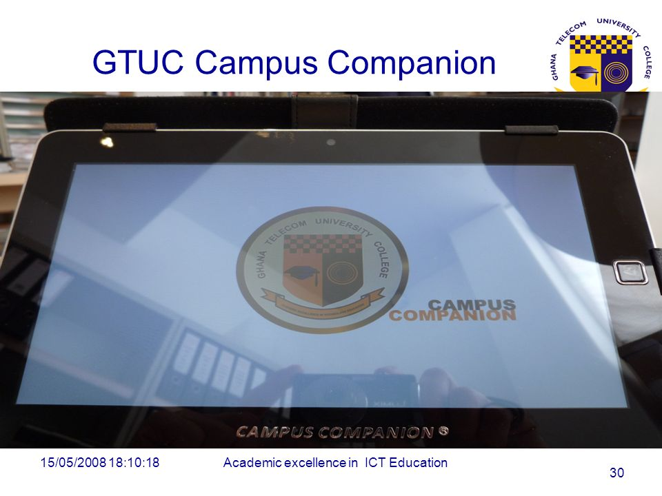 Academic excellence in ICT Education