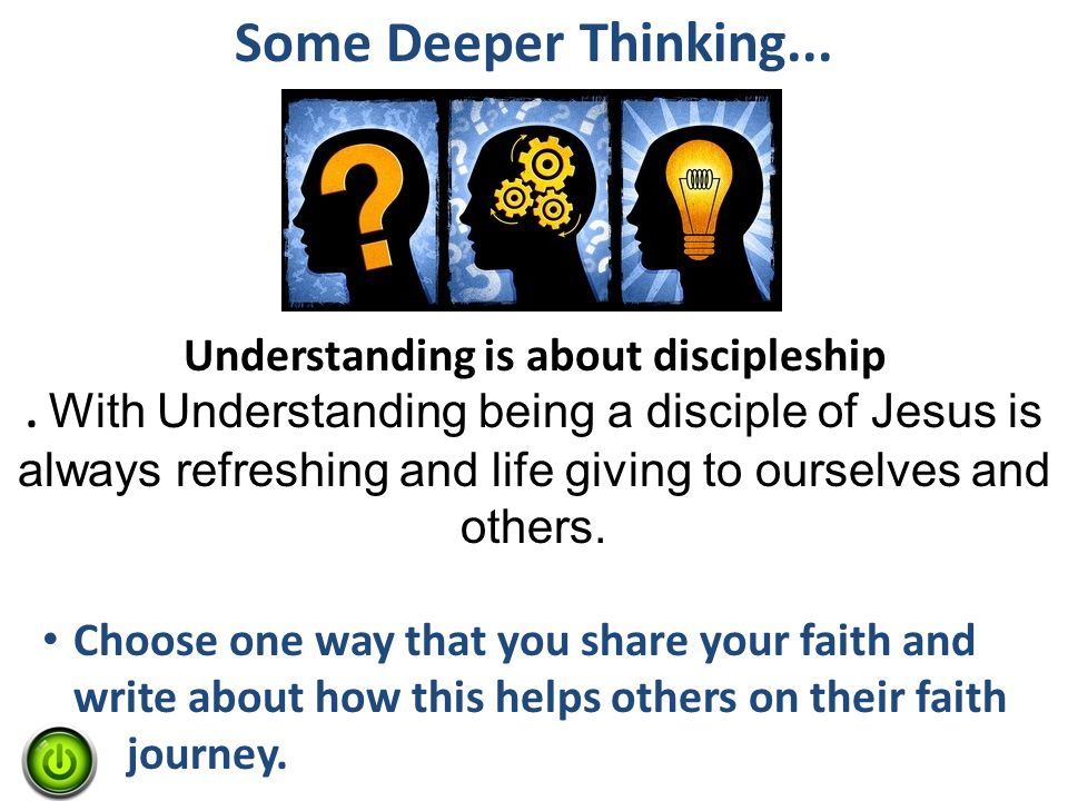understanding the meaning of discipleship The new testament definition of a disciple frankly, i am frustrated by the lack of understanding in christian circles of this concept of discipleship.