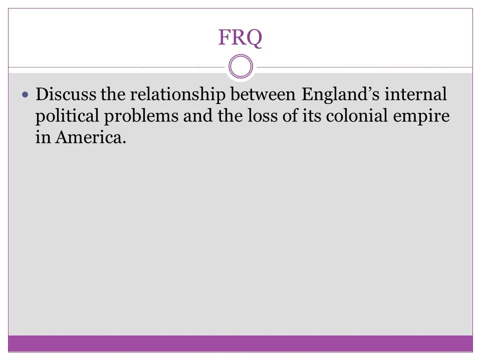 relationship between colonial america and england