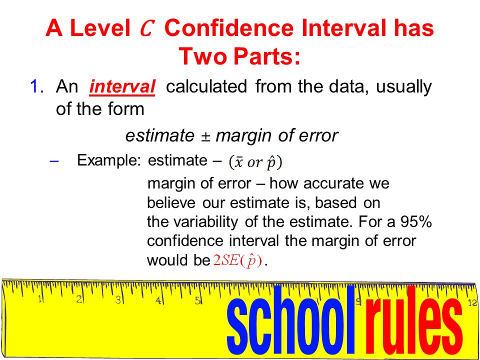 Confidence intervals for Proportions - ppt video online download