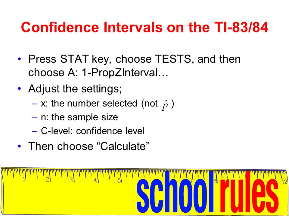 Confidence intervals for Proportions - ppt download