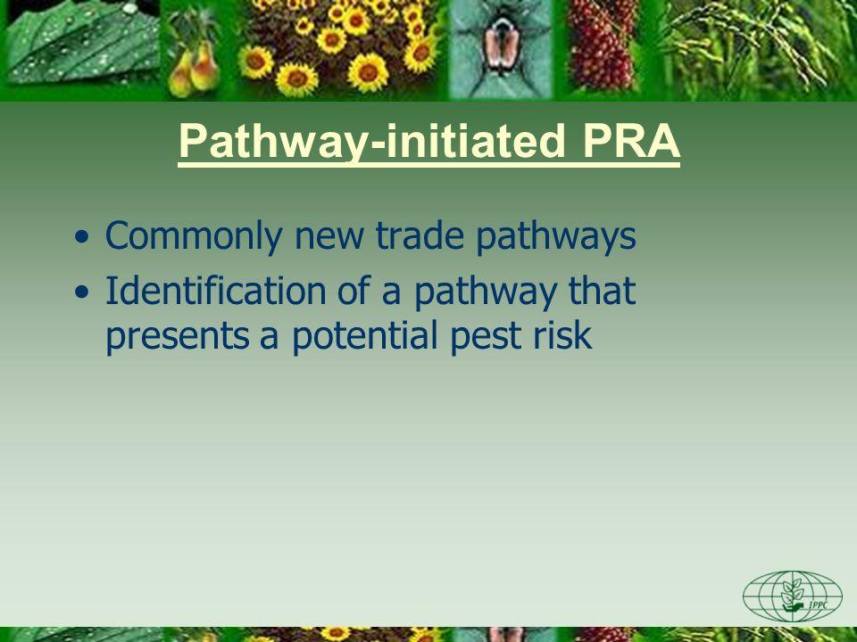 Pathway-initiated PRA