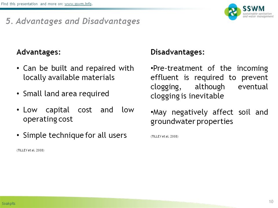 5. Advantages and Disadvantages