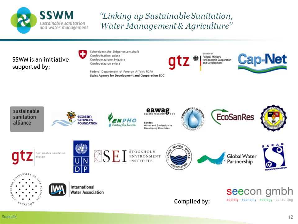 Linking up Sustainable Sanitation, Water Management & Agriculture