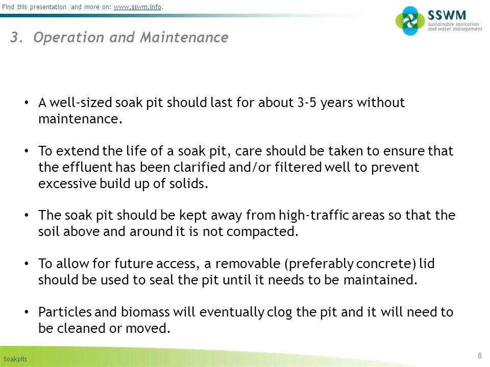3. Operation and Maintenance